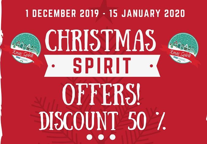 """Christmas Spirit"": Αυτές τις γιορτές διαφημίστε την επιχείρησή σας, με απίστευτα χαμηλές τιμές!"